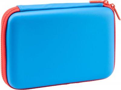 Пенал с тиснением Cool For School 1 отделение Голубой (QT-5653-Blue)