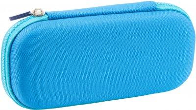 Пенал с металлической аппликацией Cool For School 1 отделение Голубой (QT-5794-Blue)