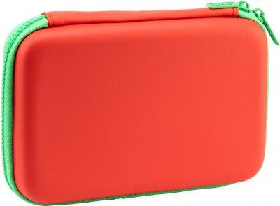 Пенал с тиснением Cool For School 1 отделение Красный (QT-5704-Red)