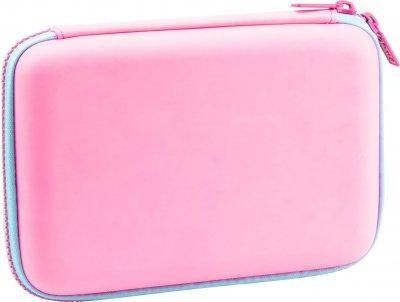 Пенал с тиснением Cool For School 1 отделение Розовый (QT-5615-Pink)