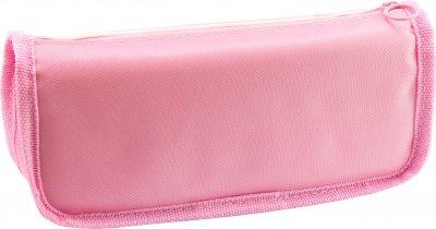 Пенал пушистый с аппликацией и помпоном Cool For School 2 отделения Розовый (6545-pink)