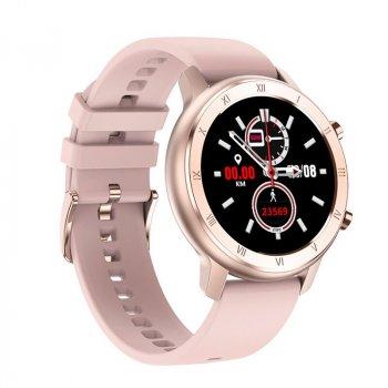 Розумні годинник NO.1 DT89 Silicon з тонометром і пульсоксиметром (Золотий)