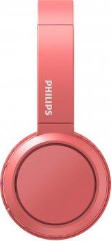 Навушники Philips Bluetooth headpohones TAH4205 Wireless Mic Red (TAH4205RD/00)