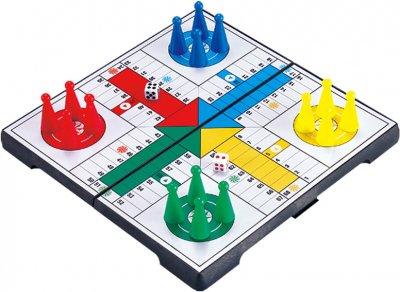 Магнітна настільна гра UB Ludo Game Лудо (2608) (2000999554278)