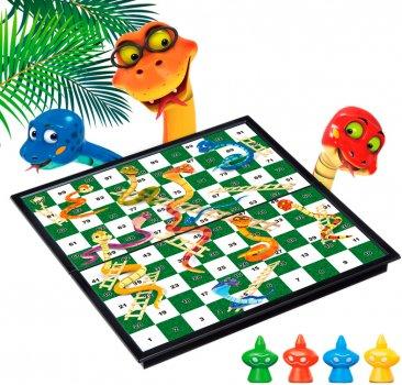 Магнітна настільна гра UB Snakes and Laaders Game Змійки та сходи (2610) (2000999554285)
