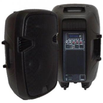 Комплект акустики активная + пассивная BIG JB15ACTIVE400WSET+MP3/FM/Bluetooth