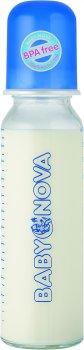 Бутылочка стеклянная Baby-Nova 250 мл (4001071441057)