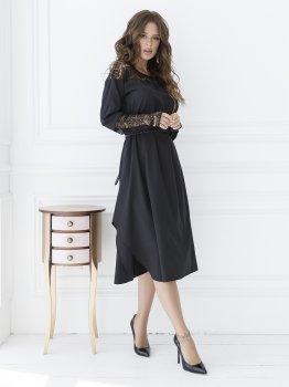 Платье ISSA PLUS SA_16 Черное