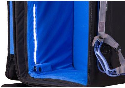Мобильная сумка-тележка ORCA BAGS Audio Accessories Bag with Built In Trolley для аудиоситемы (OR-48)
