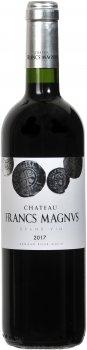Вино Chateau Francs Magnus 2017 Bordeaux Superieur червоне сухе 0.75 л 14% (3770009068239)
