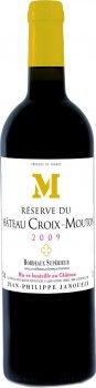 Вино Chateau Croix Mouton 2009 Reserve DU Bordeaux Superieur червоне сухе 0.75 л 13.5% (3450301165705)