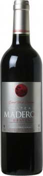Вино Chateau Maderot 2011 Graves червоне сухе 0.75 л 13% (3760084162090)