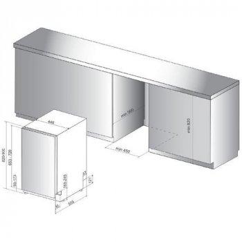 Посудомоечная машина встраиваемая Whirlpool - WSIC 3 M 27 C