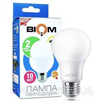 Светодиодная лампа Biom А60 10W E27 3000 K