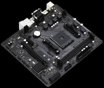 Материнская плата ASRock A520M-HDV (sAM4, AMD A520, PCI-Ex16)