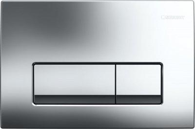 Панель смыва кнопка GEBERIT Delta 51 хром глянцевый 115.105.21.1