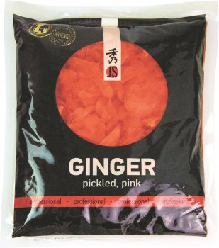 Імбир маринований JS рожевий 1 кг (4901177020166)