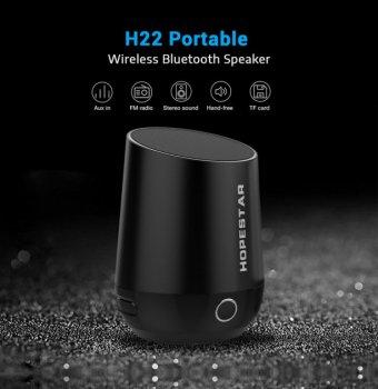 Портативна Bluetooth колонка Hopestar H22 PRO Чорна (zhb0312)