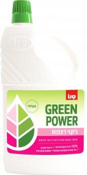 Экологическое средство для мытья пола Sano Green Power Floor Cleaning Liquid 2 л (7290108351750)