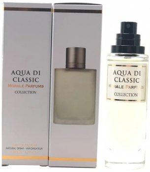 Парфюмированная вода для мужчин Мораль Парфюм Aqua Di Classic версия Giorgio Armani Acqua Di Gio Pour Homme 30 мл (3808556496219)