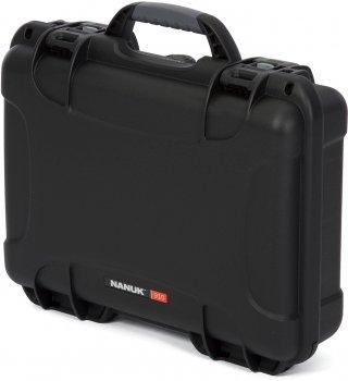 Водонепроникний пластиковий кейс Nanuk 910 з піною Black (910-1001)
