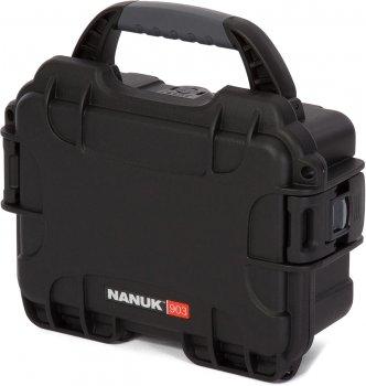 Водонепроникний пластиковий кейс Nanuk 903 з піною Black (903-1001)