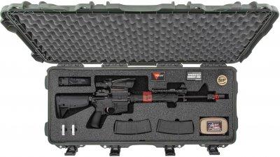 Захисний кейс для зброї Nanuk 985 with Assault Rifle Foam Black (985-AR01)