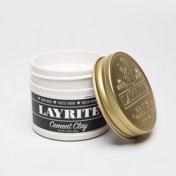 Глина для укладання волосся Layrite Cement Hair Clay