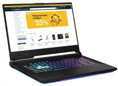 Ноутбук Asus ROG Strix G15 G512LU-AZ013 (90NR0351-M02450) Black Суперціна!!!