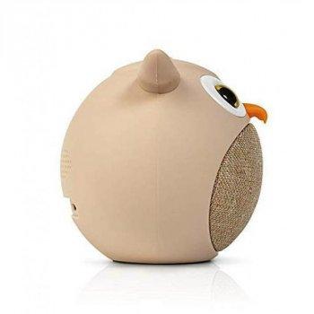 Дитяча портативна бездротова Bambi Bluetooth колонка MB-M916 Сова бежевий (MB-M916)