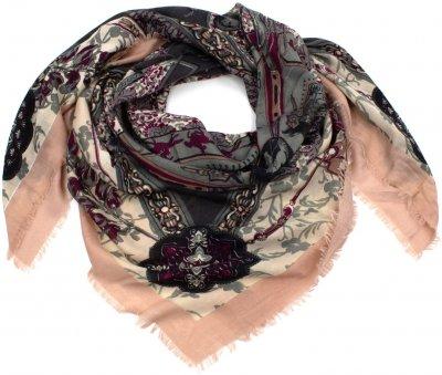Платок SumWin Пейсли 20940-06 Розовый