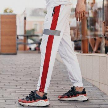 Спортивные штаны Пушка Огонь Wline белые