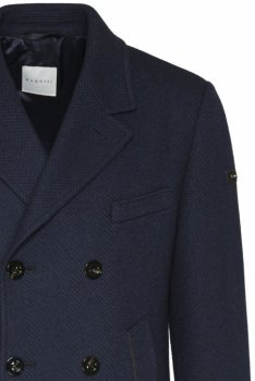 Пальто Bugatti Flexcity синє 64010/390 621800