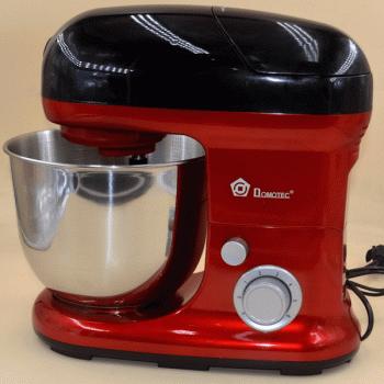 Многофункциональный кухонный комбайн 3 в 1 Domotec MS-2051 3000 Вт Миксер Блендер Мясорубка Красный