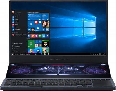 Ноутбук Asus ROG Zephyrus Duo 15 GX550LWS-HF096T (90NR02Y1-M02210) Gunmetal Gray + фірмовий рюкзак