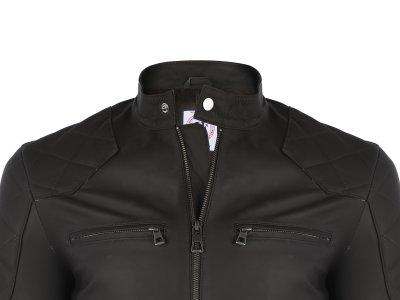 Кожаная куртка FELIX HARDY Коричневый (FE7106)