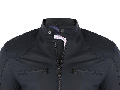 Кожаная куртка FELIX HARDY Темно-синий (FE1854184)