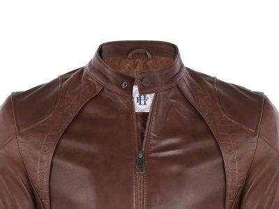 Кожаная куртка FELIX HARDY Светло-коричневый (FE7596199)
