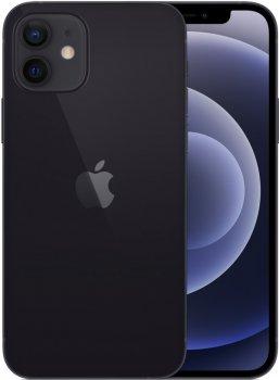 Мобільний телефон Apple iPhone 12 64GB Black Офіційна гарантія