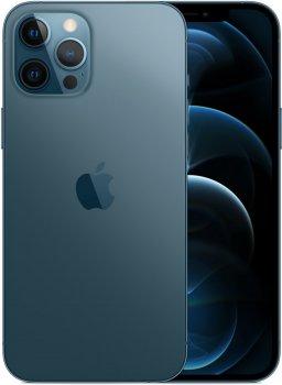 Мобільний телефон Apple iPhone 12 Pro Max 128 GB Pacific Blue Офіційна гарантія