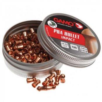 Пульки Gamo PBA Bullet 125шт кал.4,5 (6322720)