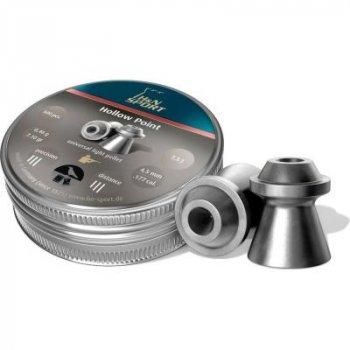 Пульки Haendler & Natermann Hollow Point 500 шт/уп 0,46 гр 4,5 мм (1453.01.07)