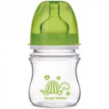 Бутылочка для кормления Canpol babies Easy Start Цветные зверюшки, салатовая, 120 мл (35/205-3)
