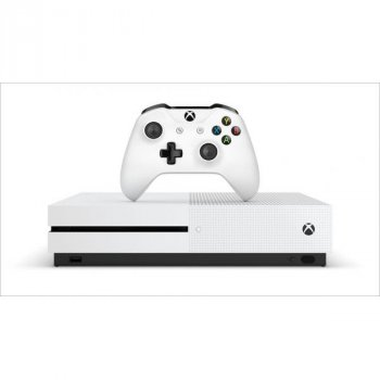 Microsoft Xbox One S 1Tb White + UFC 4 (русская версия) + доп. Wireless Controller with Bluetooth (White)