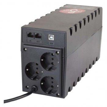 Джерело безперебійного живлення Powercom RPT-800AP Schuko