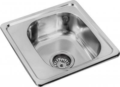 Кухонная мойка LEMAX 380х380х160 0.6 мм хром (LE-5013 CH)