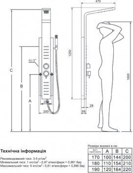 Гидромассажная панель PRIMERA Intera 4350019
