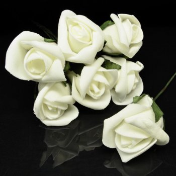 Роза латексна велика, 35 мм, Кремова, 1 шт (DIF-025728) Polimex