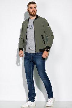 Чоловіча куртка Time of Style 157P8810 Оливковий