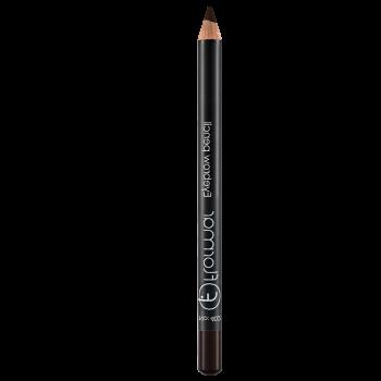 Олівець для брів Flormar 402 Brown,1.4 м